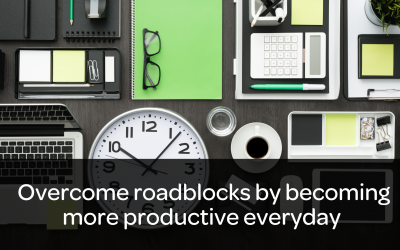 How to overcome roadblocks by becoming more productive every day with Mr. Productivity, Mark Stuczewski
