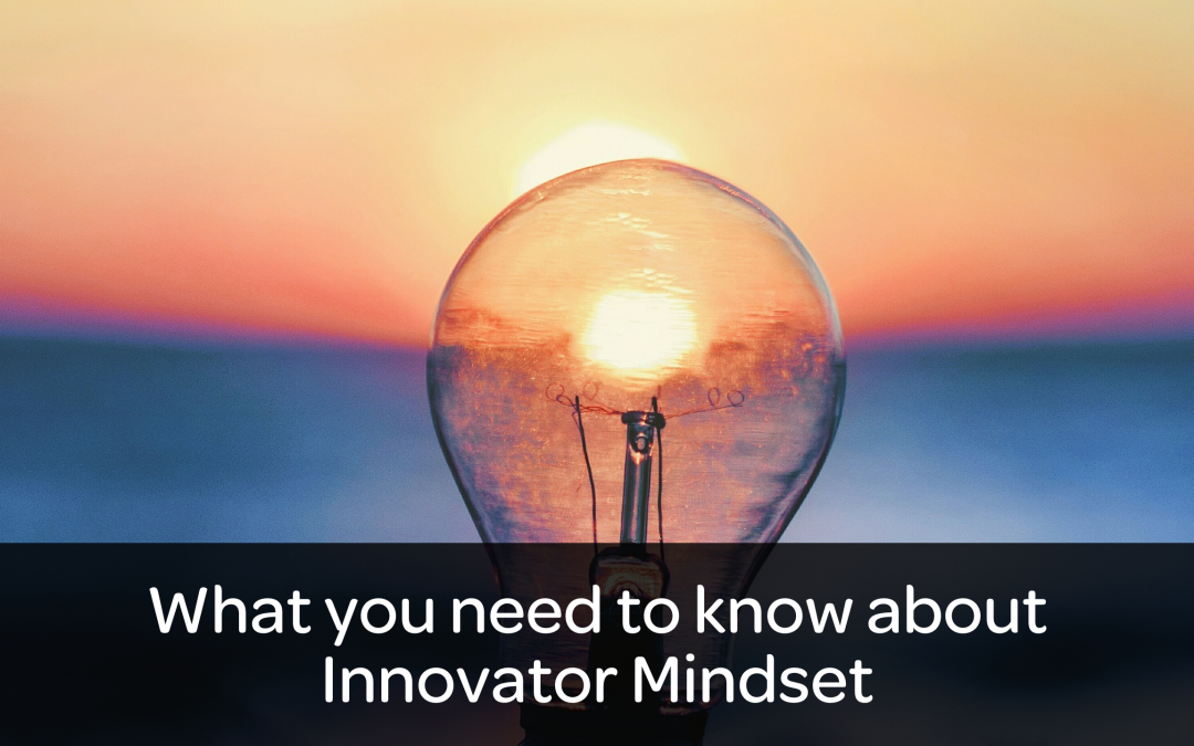 Innovator Mindset: What you need to know about